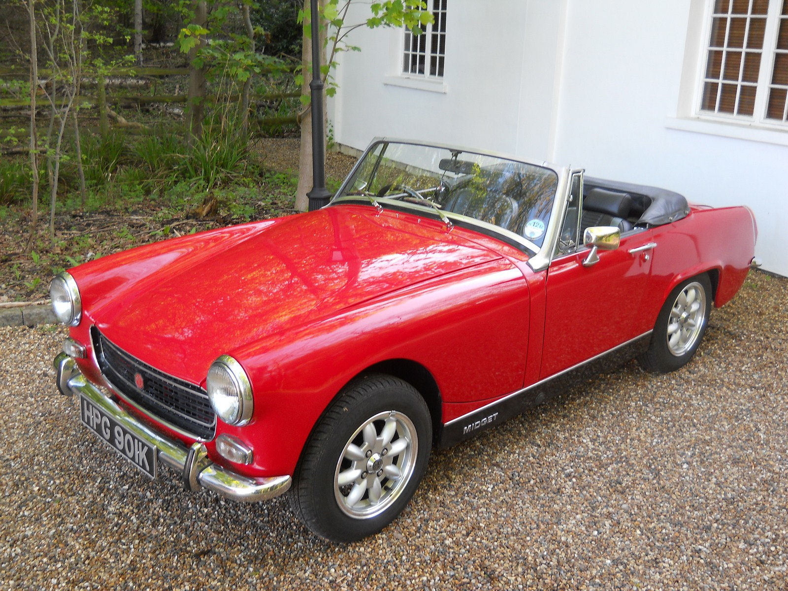 Bumpers for 1971 mg midget