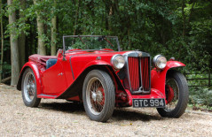 MG TC (GTC 994) 1946