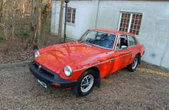 MGB GT, (KNV 778P) 1975