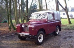 Land Rover Series II (ACK 82A) 1959