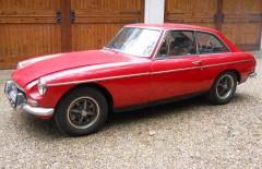 MGB GT 1972 Restoration Project (HFL466L)