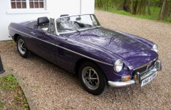 MGB Roadster One Owner for 34 Years (YNA478M)