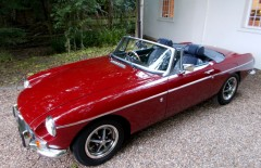 MGB Roadster 1972 Automatic & Power Steering (SFL246K)