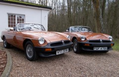 A Pair of MGB Limited Edition Roadsters