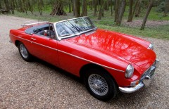 MGB Roadster 1967 One owner 26 years (NGB975F)