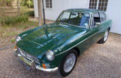MGC GT 1968 British Racing Green Older Restoration (HVG729F)