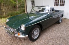 MGB Roadster 1971 Older Restoration (WAW197K)