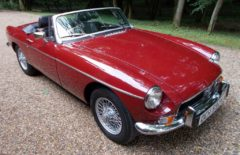 MGB Roadster 1973 Older Restoration (OCH592N)