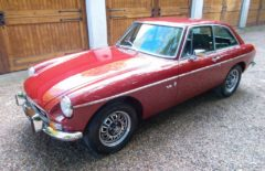 MGB GT 1974 Restored Genuine Factory V8 Chrome Bumper (RXC772M)