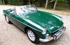 MGB Roadster 1973 Older Restoration (BKW72L)