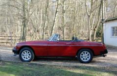 MGB Roadster (LPM 949W) 1981