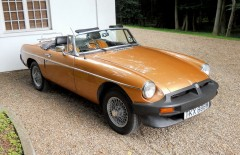 MGB Roadster Limited Edition (TKX888W) 1981