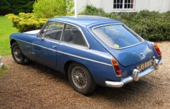 MGB GT 1966 RESTORATION PROJECT/SPARES/REPAIRS