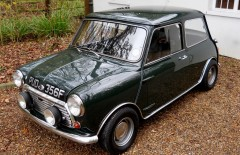 Austin Mini Cooper 1968 (PUD356F)