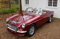 MGB V8 Roadster Rebuilt On Heritage Shell (EHJ950C)