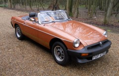 MGB LE Roadster 55,000 miles (FGF479X)