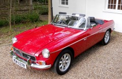 MGB Roadster V8 Chrome Conversion (WDM637R)