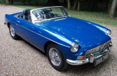 MGB Roadster 1970 Heritage Shell Rebuild (XNX74H)