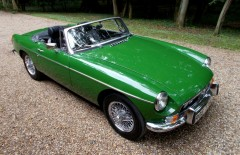 MGB Roadster Heritage Shell Rebuild 1974 (ROE771M)