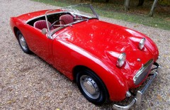 Austin Healey Sprite New Shell Rebuild (839VHX)