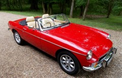 MGB Roadster V8 Built on Heritage Shell (WLL826M)