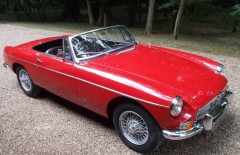MGB Roadster 1964 Nut & Bolt Rebuild (EGF478B)