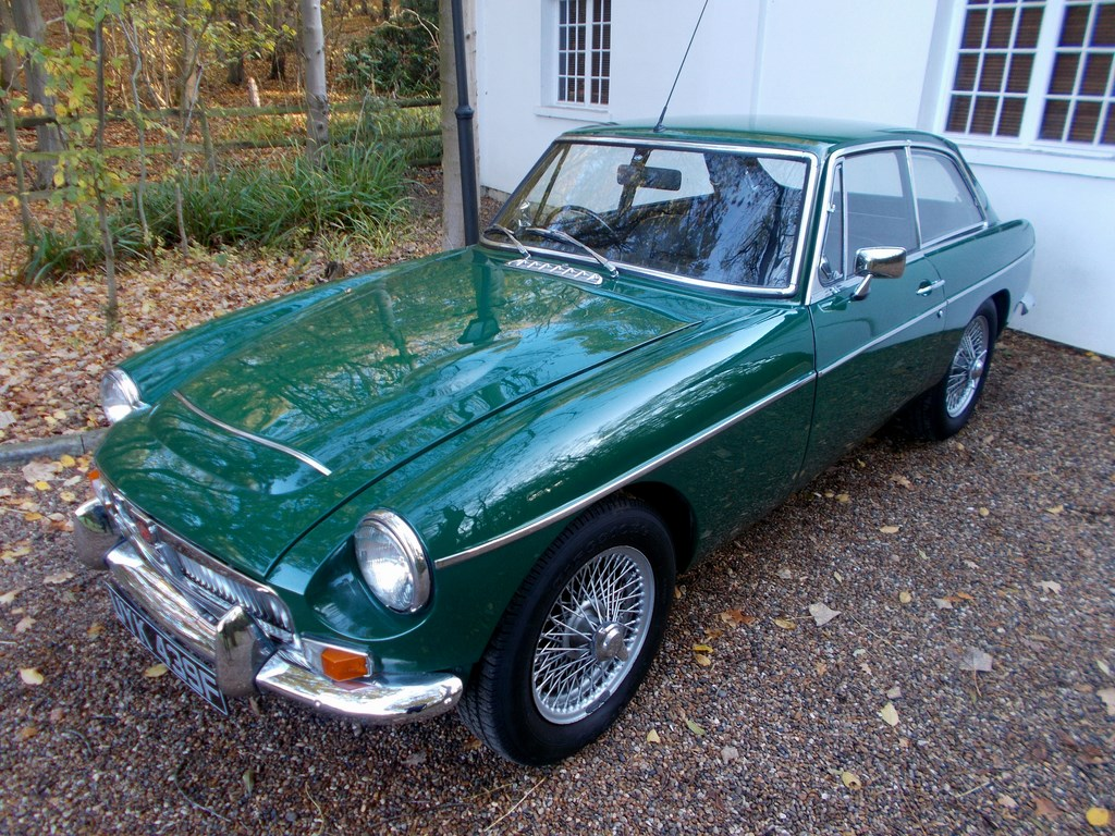 MGC GT 1968 British Racing Green £10k Restoration