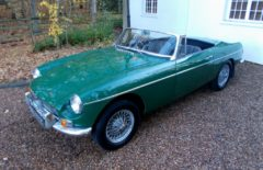 MGB Roadster 1968 One Family Owner From New (SBU822G)