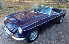 MGB Roadster 1974 Heritage Shell Rebuild (PYS531M)