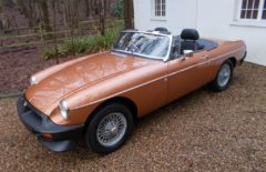 MGB LE Roadster £10k spent (NTO205W)