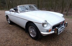 MGB Roadster 1974 Restored (YWP726M)