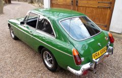 MGB GT 1974 British Racing Green (VRA686N)