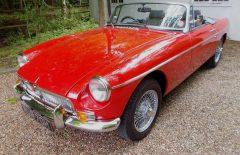 MGB Roadster 1969 Restored Tartan Red (NUR70H)