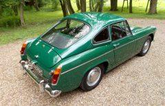 MG Midget 1965 Older Bare Shell Rebuild BRG (GDA629C)
