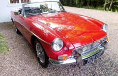 MGB Roadster 1967 Older Restoration (MUB211F)