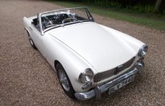 MG Midget 1964 Older Bare Shell Rebuild Project OEW (BLV744B)