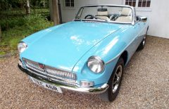 MGB Roadster 1977 Bare Tub Comprehensive Rebuild (TEC46R)