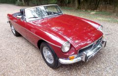 MGB Roadster 1974 Last Owner 26 Years (OWL476M)