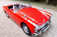 Austin Healey Sprite Mk2 De Luxe, One Owner 31 years 1961 (732CYK)