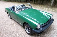 MG Midget 1500 Last Owner 21 Years (RFW374R)