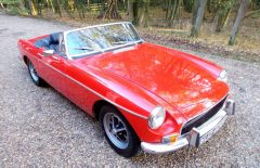 MGB Roadster 1971  Two Former Keepers  (WUO402K)