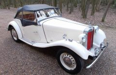 MG TD2 Left Hand Drive (TFF452)
