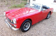 MG Midget 1275cc Flame Red (NTF607M)