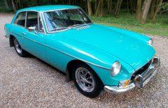 MG BGT 1972 Last Owner 37 Years (LLF951K)