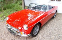 MGB ROADSTER 1972 Restored (RPR724K)