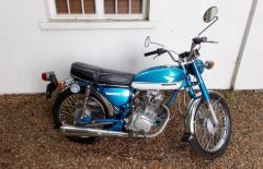 Honda CB125S  Barn Find Project (OKJ60M)