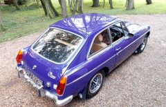 MGB GT 1974 Older Restoration (GYJ923N)