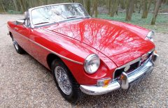 MGB ROADSTER 1971 Bare Shell Rebuild (EYE450J)