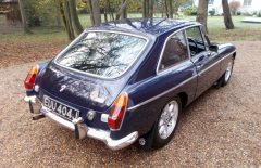 MGB GT 1971 AUTOMATIC Older Restored Example (EUU404J)