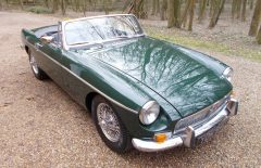 MGB Roadster 1971 BRG with 5 Speed Gearbox (YOK94J)